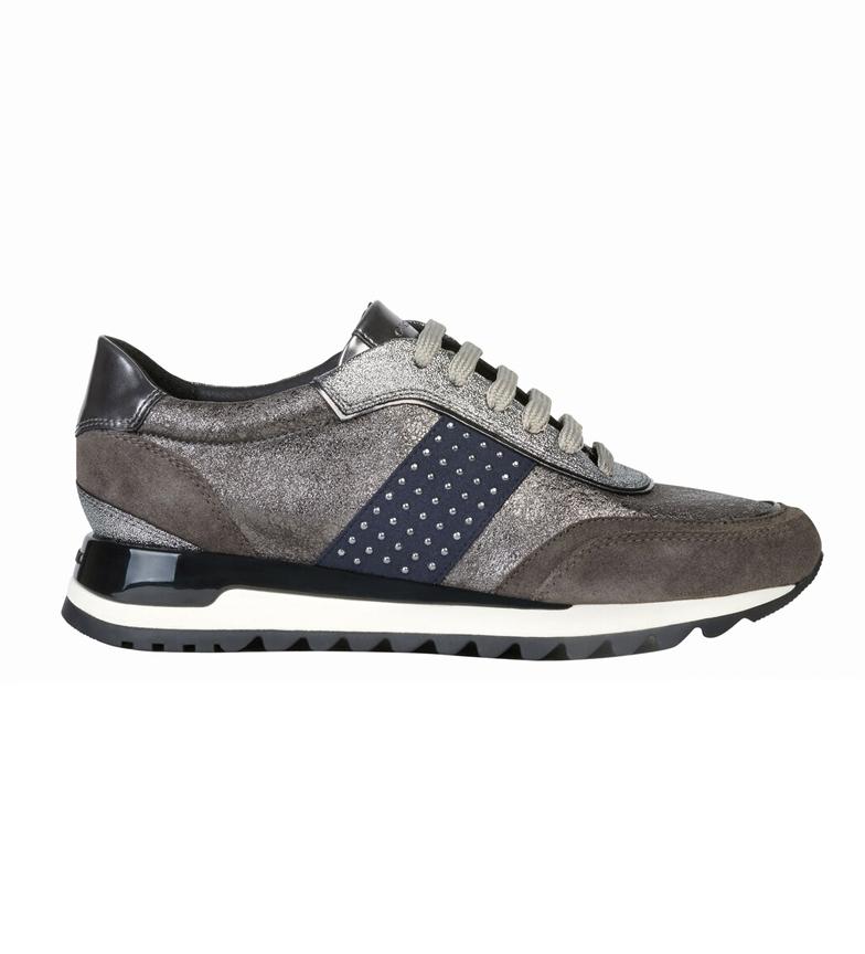 Comprar GEOX Zapatillas de piel Tabelya plata