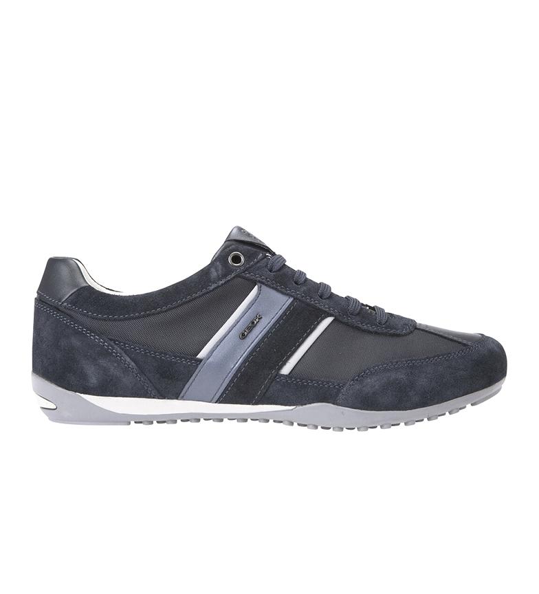 Comprar GEOX Les chaussures en cuir de la marine Wells