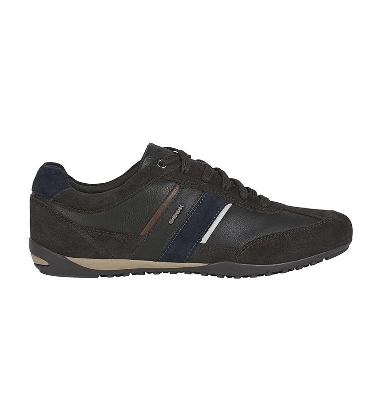 Comprar GEOX Sapatos de couro Wells castanho escuro