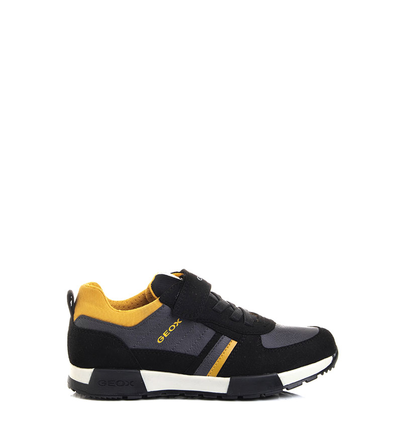 Comprar GEOX Zapatillas J Alfier negro, amarillo