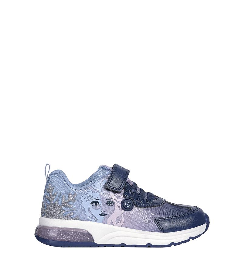 Comprar GEOX Spaceclub lilac sneakers, navy