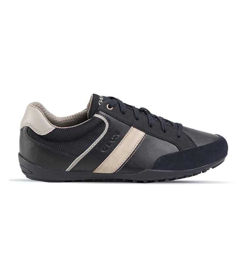 Comprar GEOX Sapatos de couro U Garlan B marine, preto