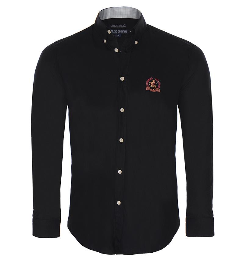 Giorgio Di Mare Camisa Blou negro