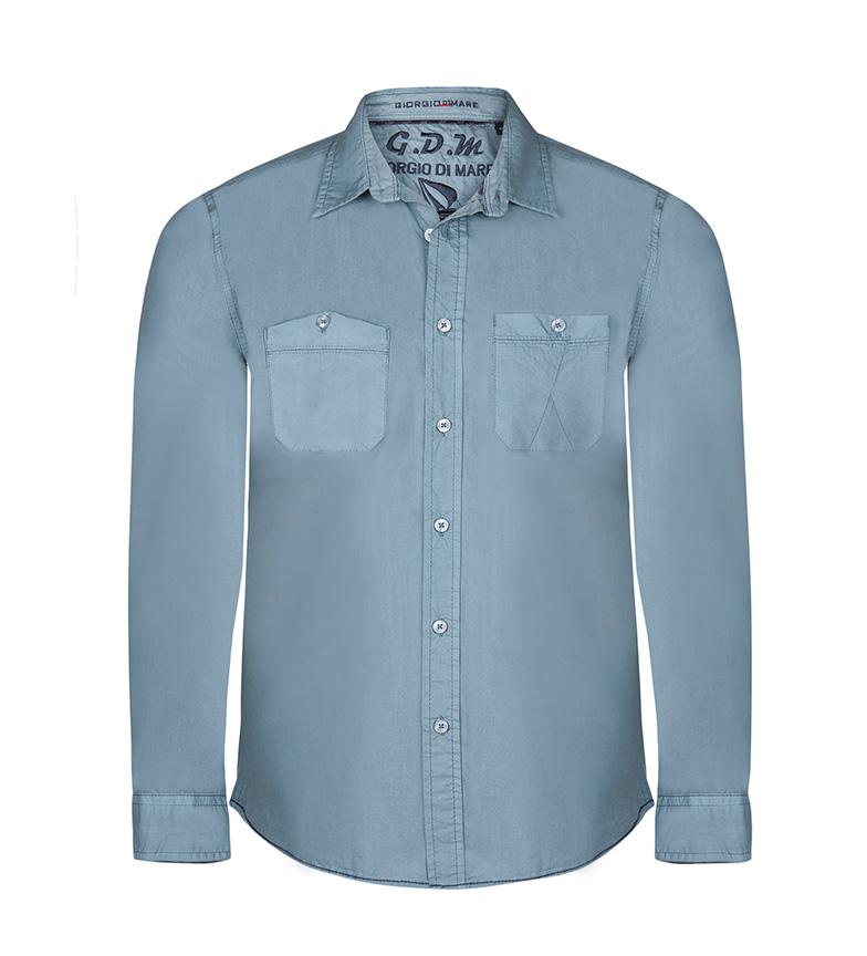 Giorgio Di Mare Camisa D. Style celeste