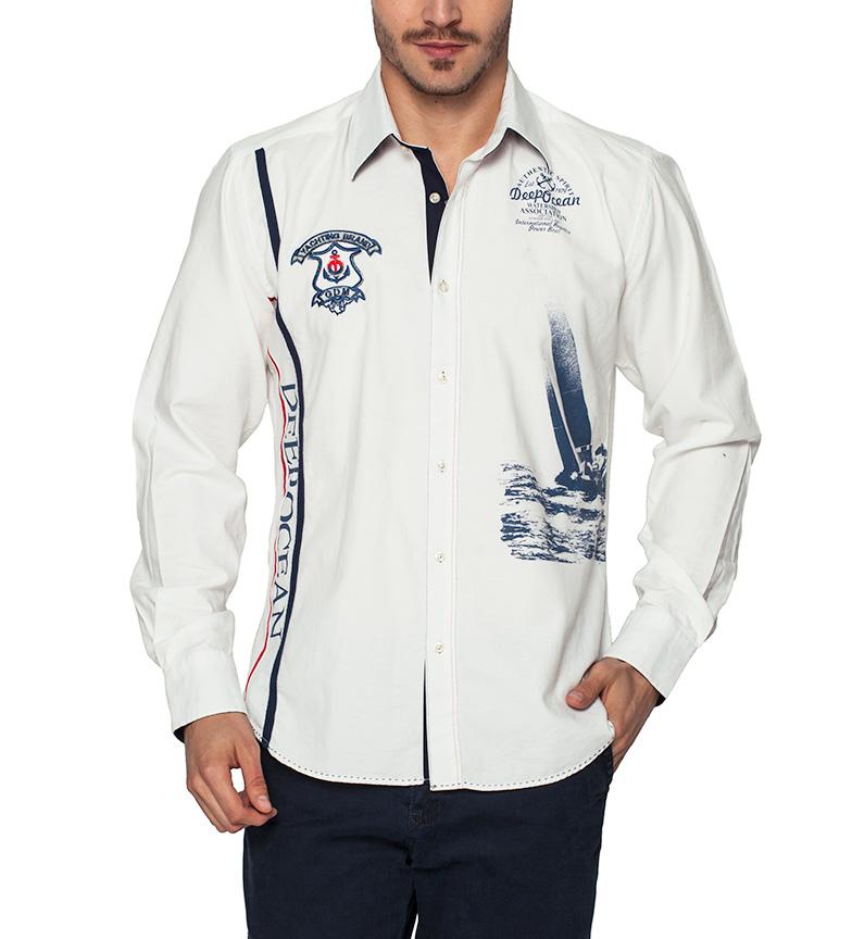 Giorgio Di Mare Camisa Deep Ocean blanco