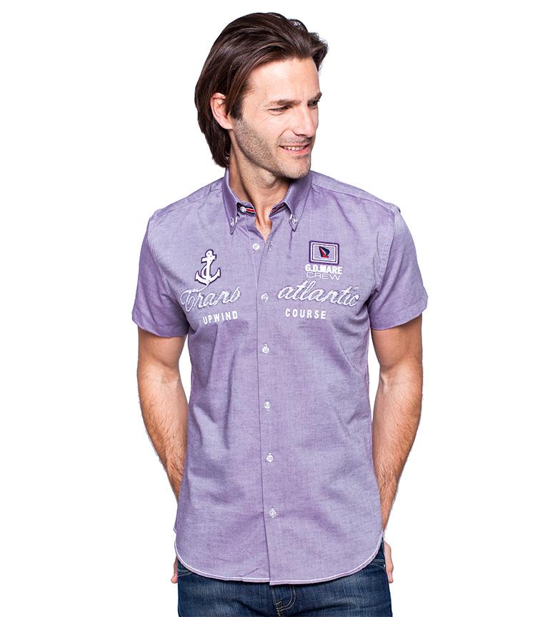 Comprar Giorgio Di Mare Camicia viola di flusso
