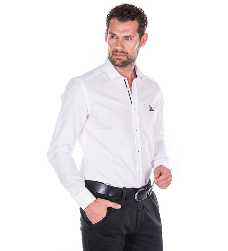 Mare Latitude Camisa Giorgio Di Blanco XZukPi