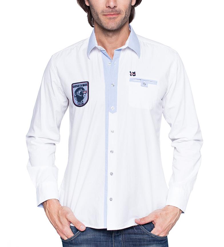 Comprar Giorgio Di Mare Team Luxe white polo shirt