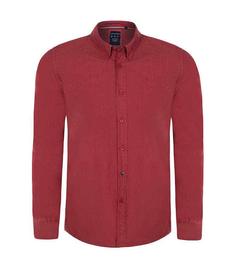 Giorgio Sundo Rojo Camisa Di Mare vn0NOm8Pyw