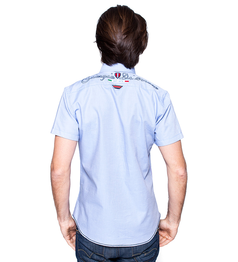 Azul Camisa Taste Mare Giorgio Di kTPuZOXi