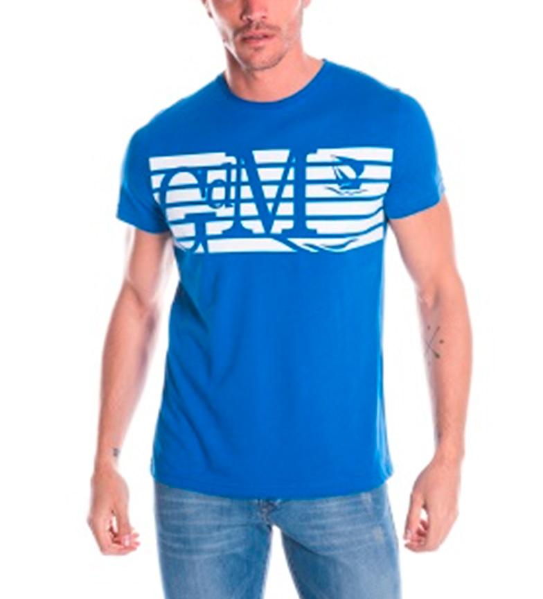Giorgio Di Mare Camiseta Carlino azul