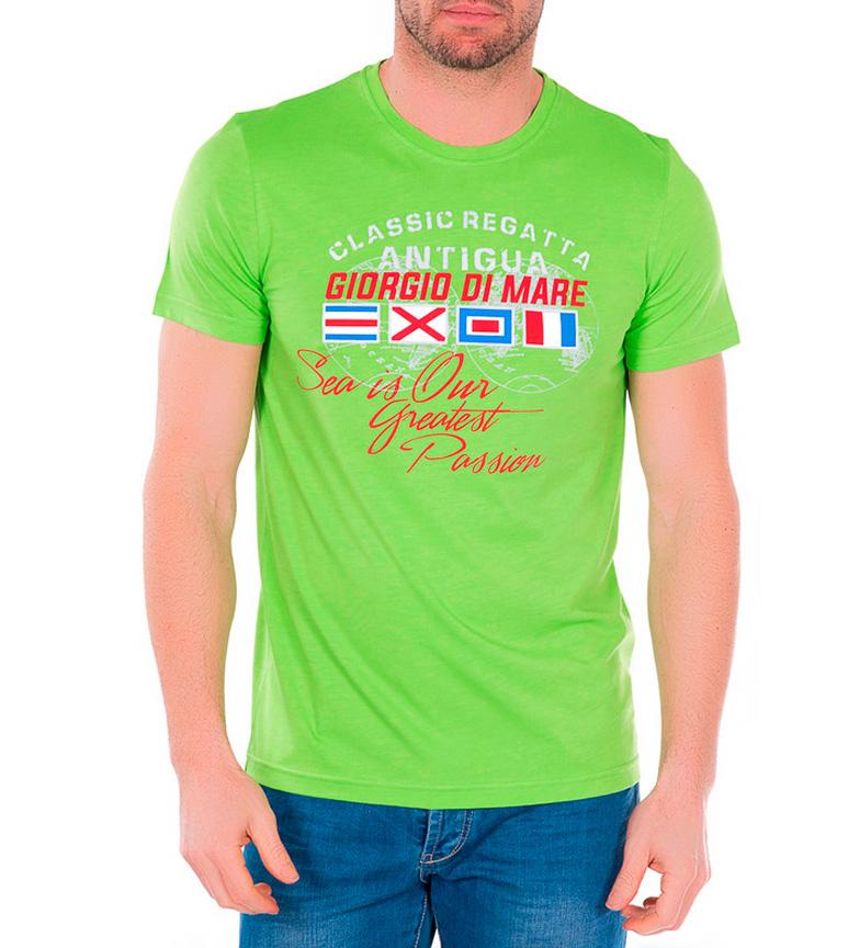 Giorgio Verde Di Mare Camiseta Cono zMSVLqUpGj