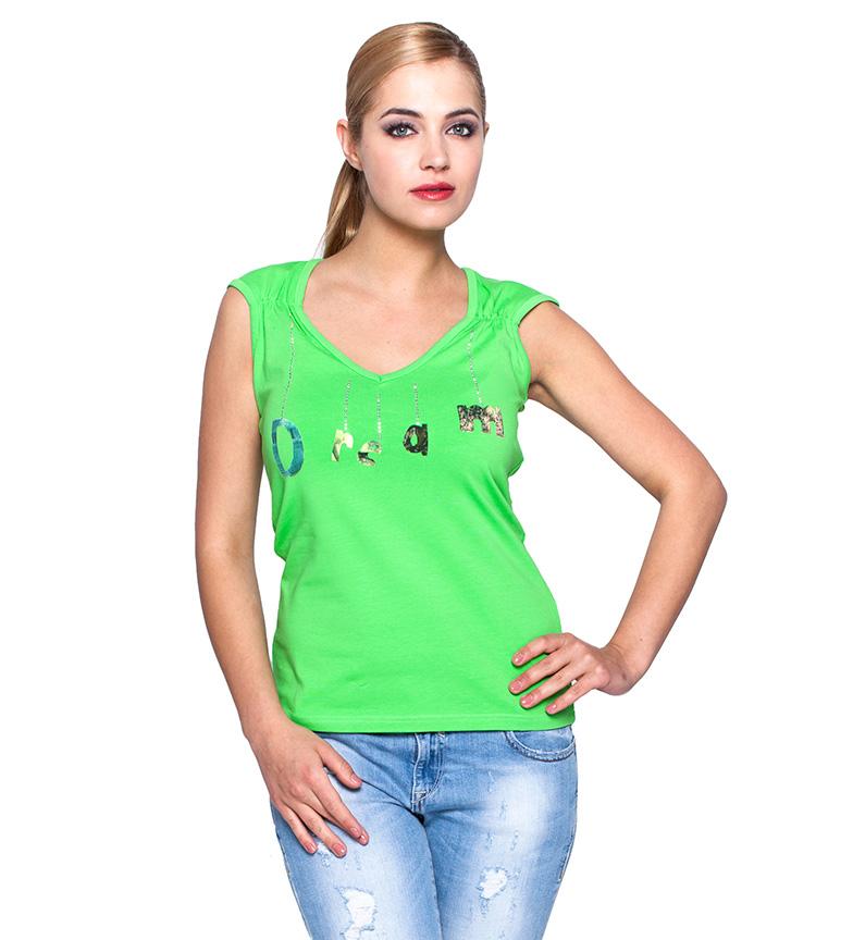 Comprar Giorgio Di Mare Dream green t-shirt