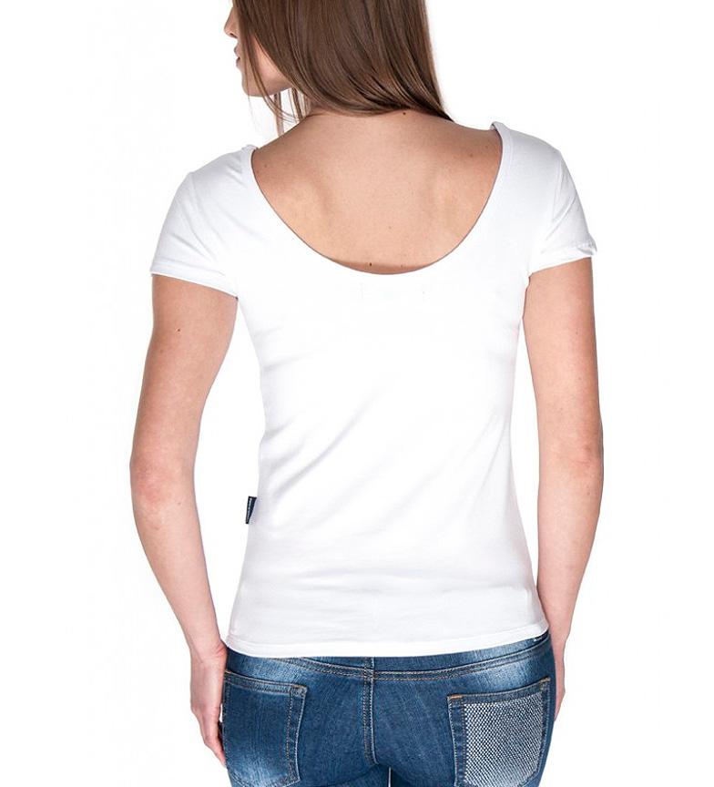 Sea George Camiseta Elsker Min Sko Blanco kjøpe billig pålitelig SluC8rBKS