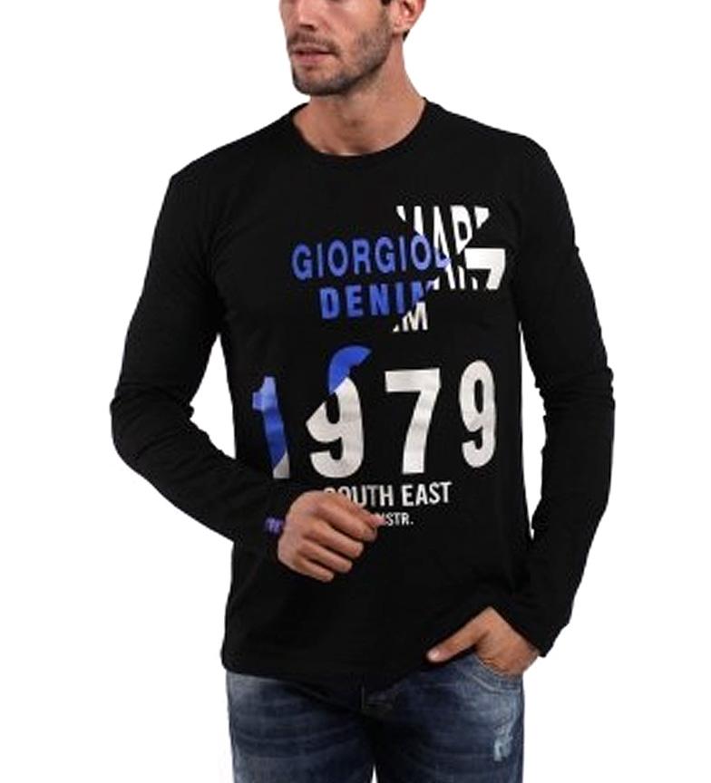 Di Mare Giorgio East Camiseta negro South P0q8nwgdp