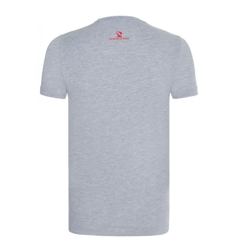 Giorgio Di Mare Camiseta Veta gris