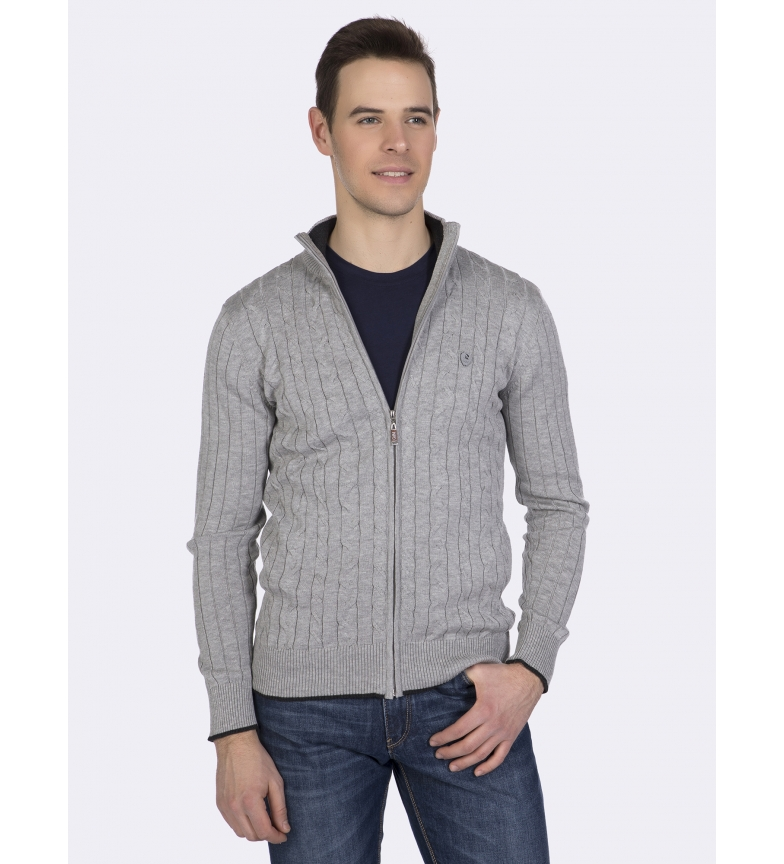 Comprar Giorgio Di Mare Knitted jacket Carter grey