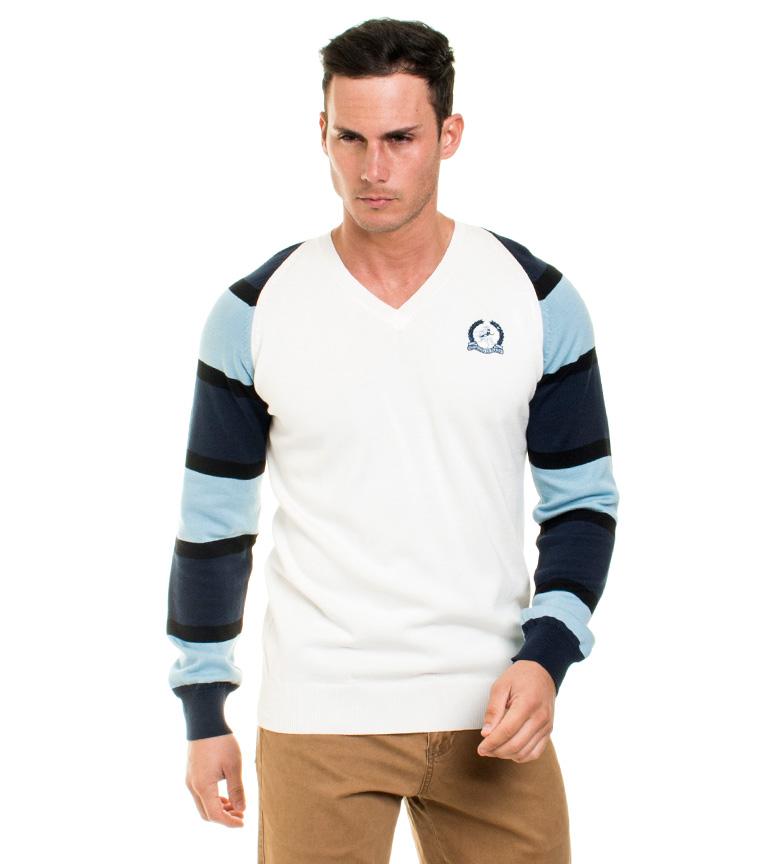 Comprar Giorgio Di Mare Fler Jersey bianco, blu