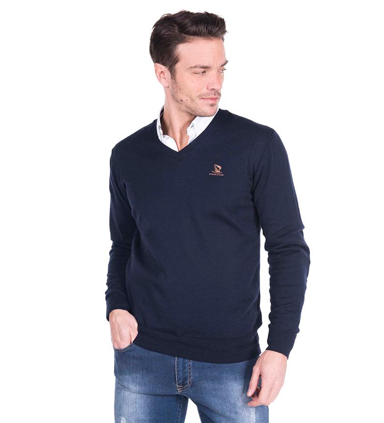Comprar Giorgio Di Mare Navy Bolyn sweater