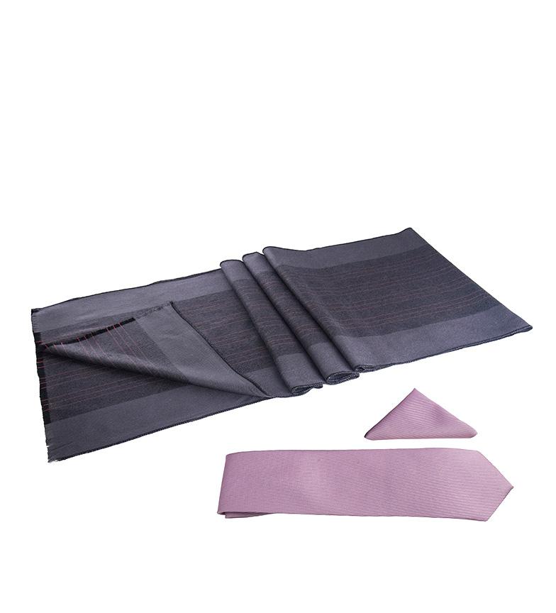 Comprar Giorgio Di Mare Ensemble Evan lilas - écharpe, mouchoir, cravate -