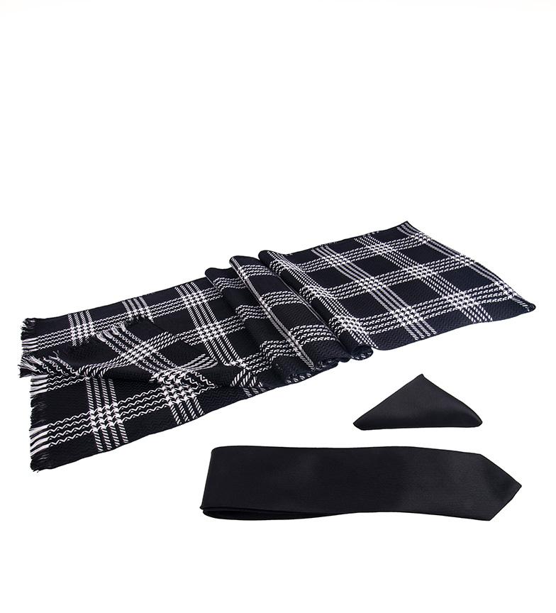 Comprar Giorgio Di Mare Black Fat outfit - sciarpa, sciarpa, sciarpa, cravatta-