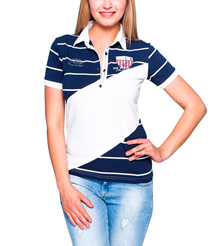Comprar Giorgio Di Mare Polo Bice white, blue