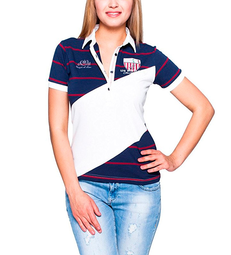 Comprar Giorgio Di Mare Polo Carolyn red, navy