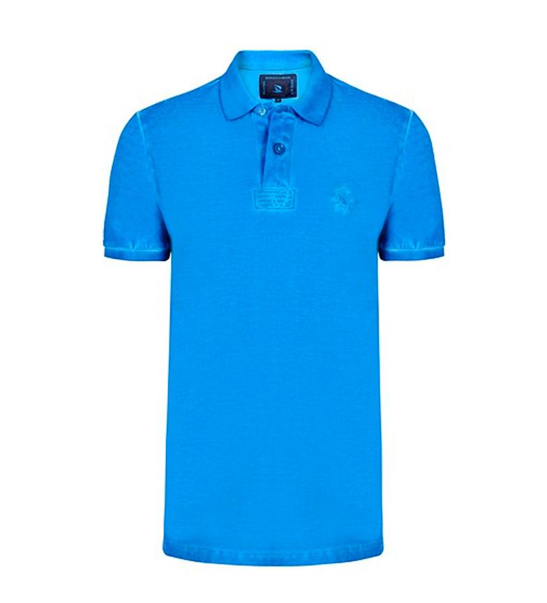 Giorgio Di Mare Polo Vintage azul