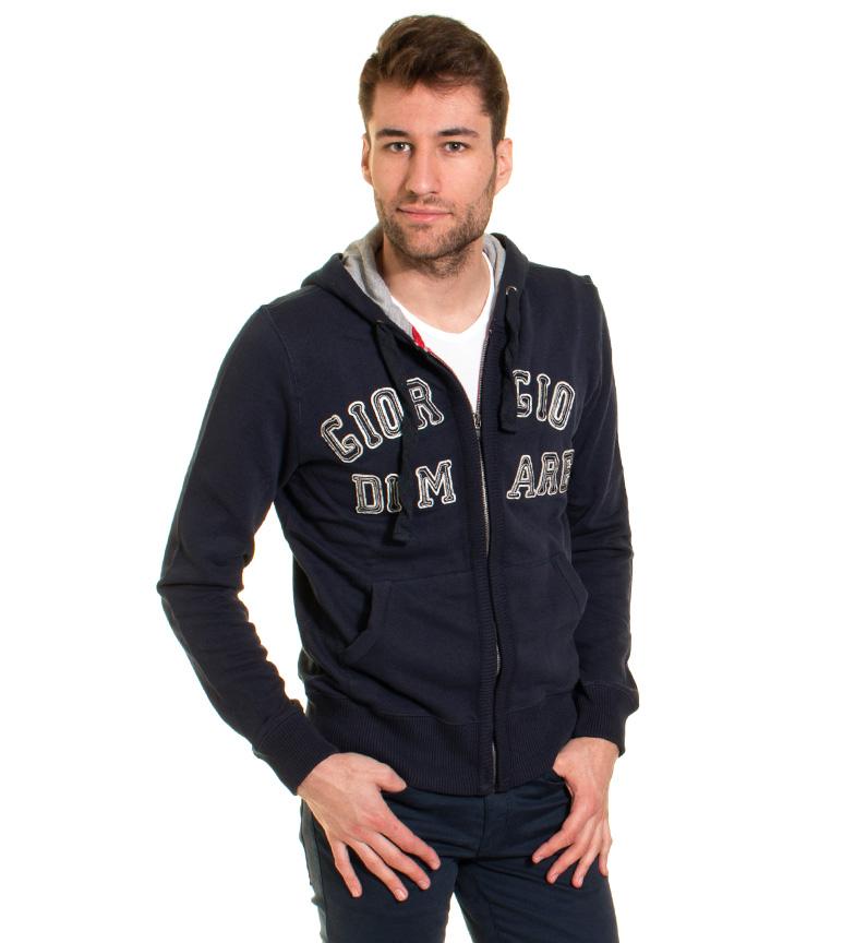 Comprar Giorgio Di Mare Aller sweat-shirt bleu marine
