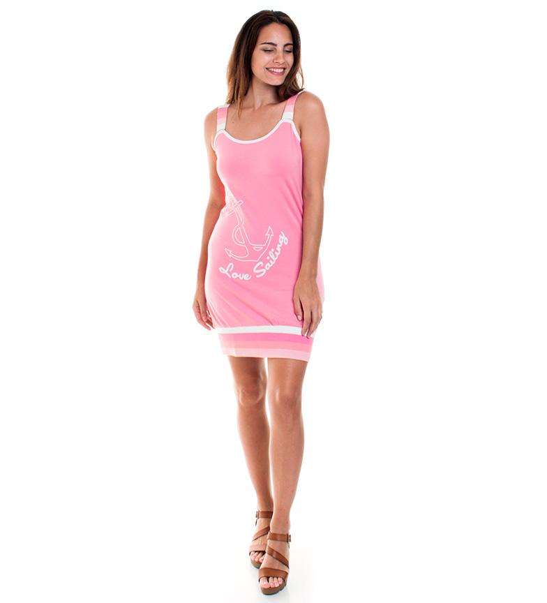 Giorgio Di Mare Vestido Giordana rosa