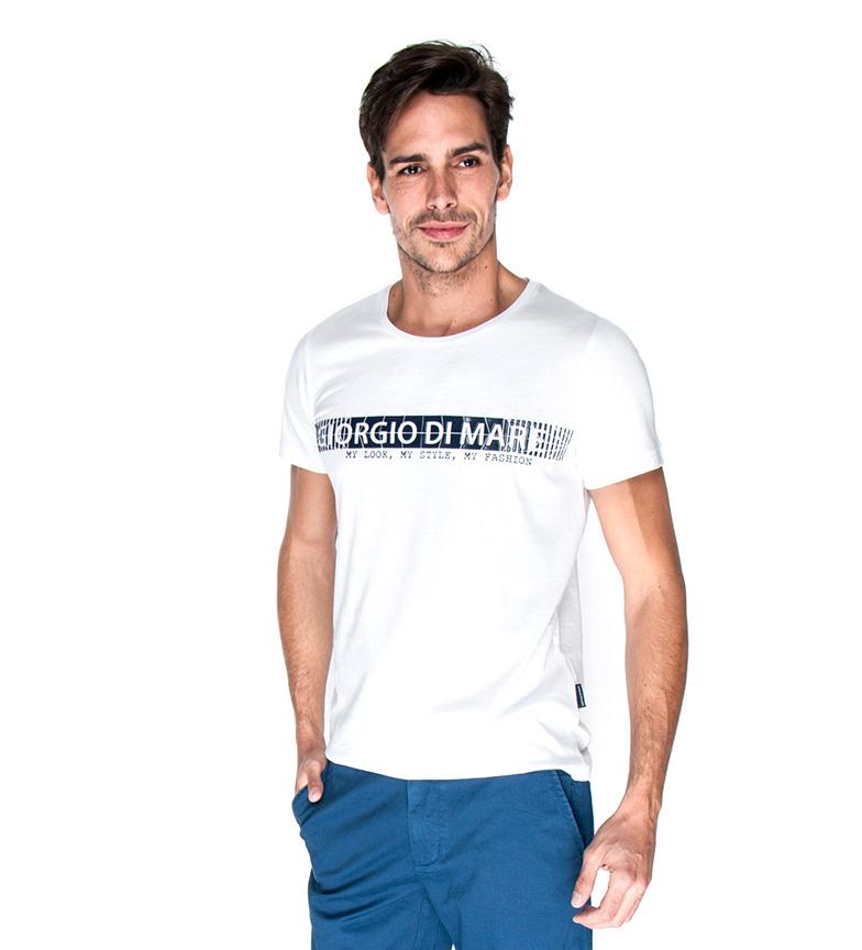 Comprar Giorgio Di Mare T-shirt Dima blanc