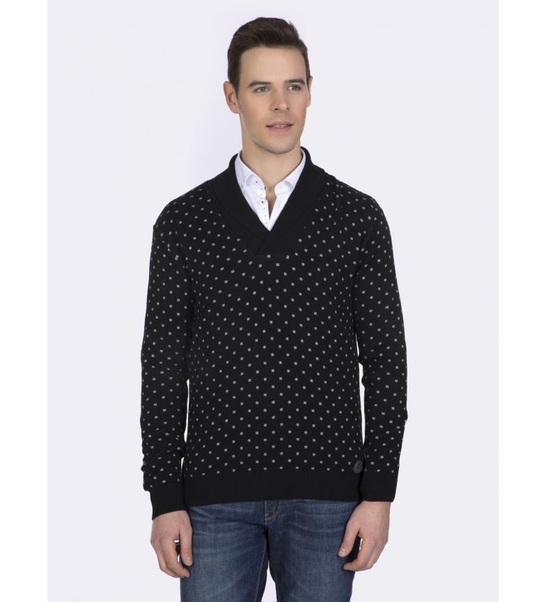 Comprar Giorgio Di Mare Cotton and silk sweater black