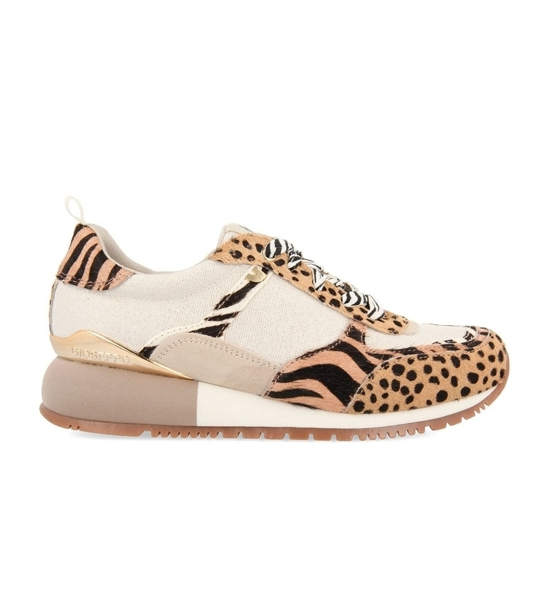 Comprar Gioseppo Bellflower leather shoes beige