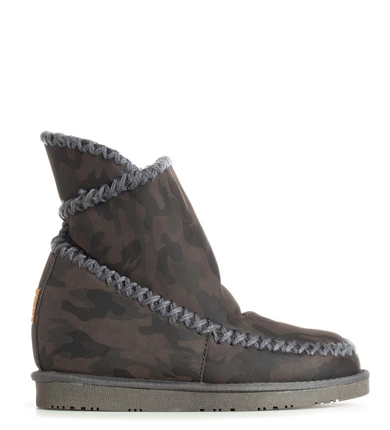Comprar Gioseppo Bottes marron camouflage - Hauteur intérieure en coin : 6cm-