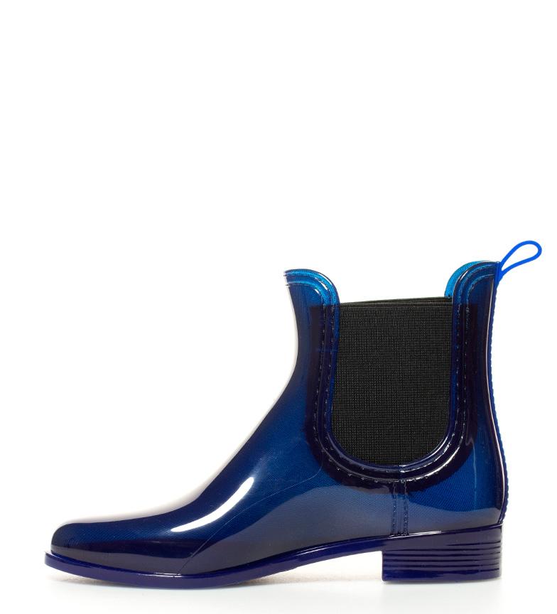 agua Gioseppo Leeds azul de Botas de agua Botas Gioseppo raUrn