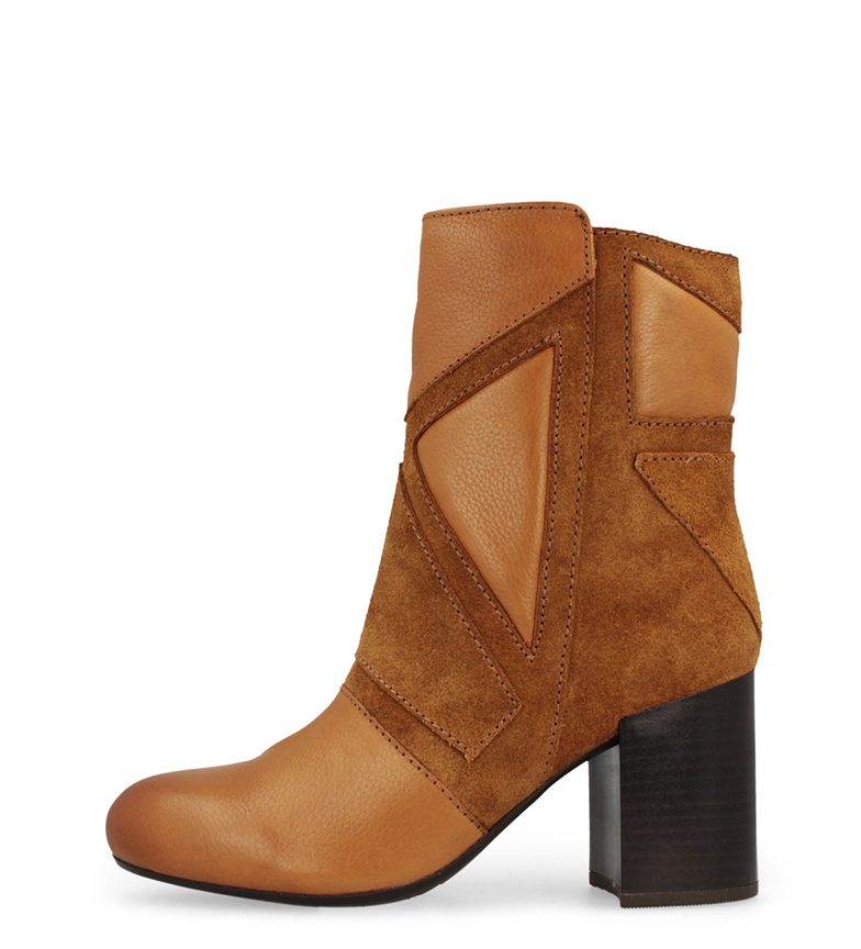 Comprar Gioseppo Leather boots Conway  -Height of the heel: 7 cm-