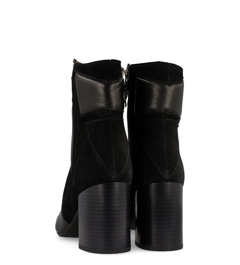 Botas piel Conway 7cm tacón negro Gioseppo de Altura vqBxgwBTA