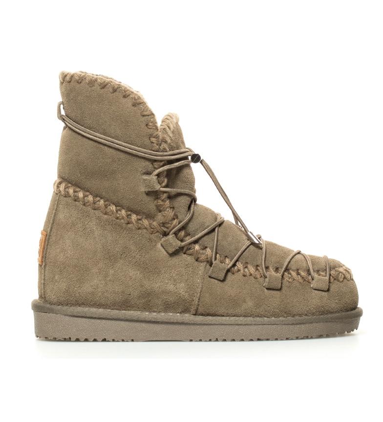 Comprar Gioseppo Espero couro botas taupe altura cunha interior: 7cm-