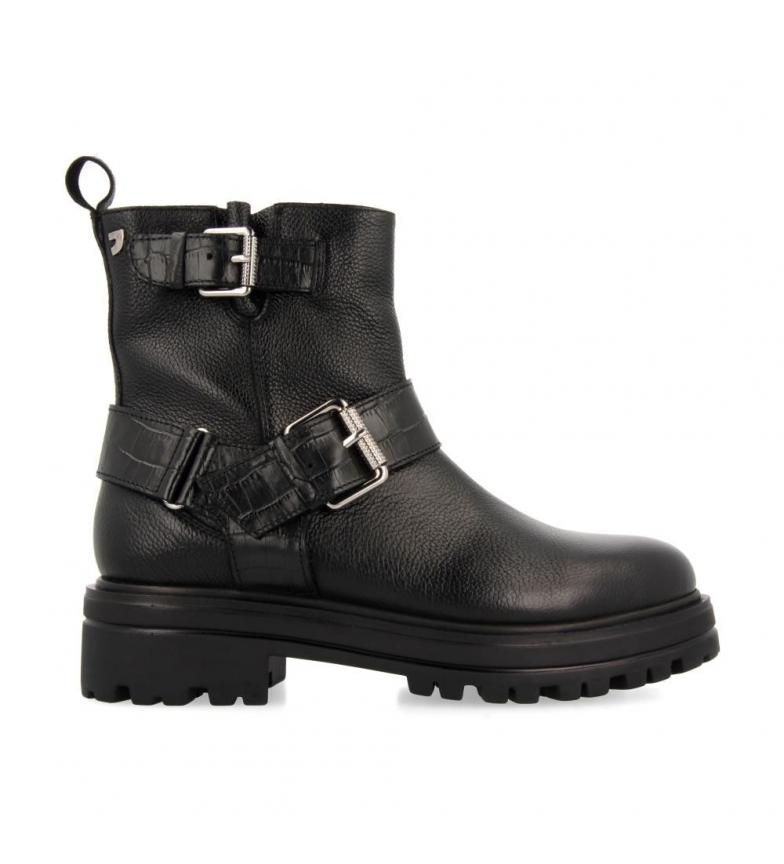 Comprar Gioseppo Botas de couro preto para tornozelo Enschede