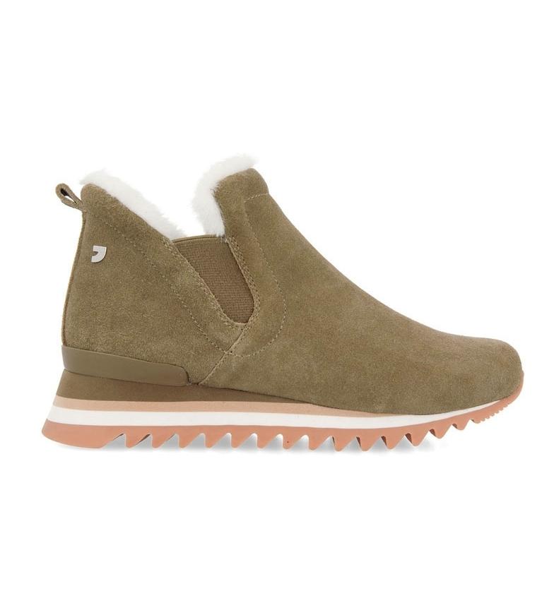 Comprar Gioseppo Eckero bottes en cuir noir - hauteur du talon compensé : 3.5cm