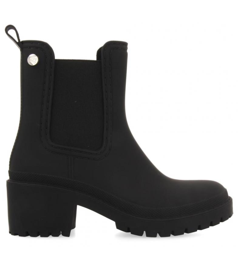 Gioseppo Lesja botas de tornozelo preto -Altura do calcanhar: 5,5cm