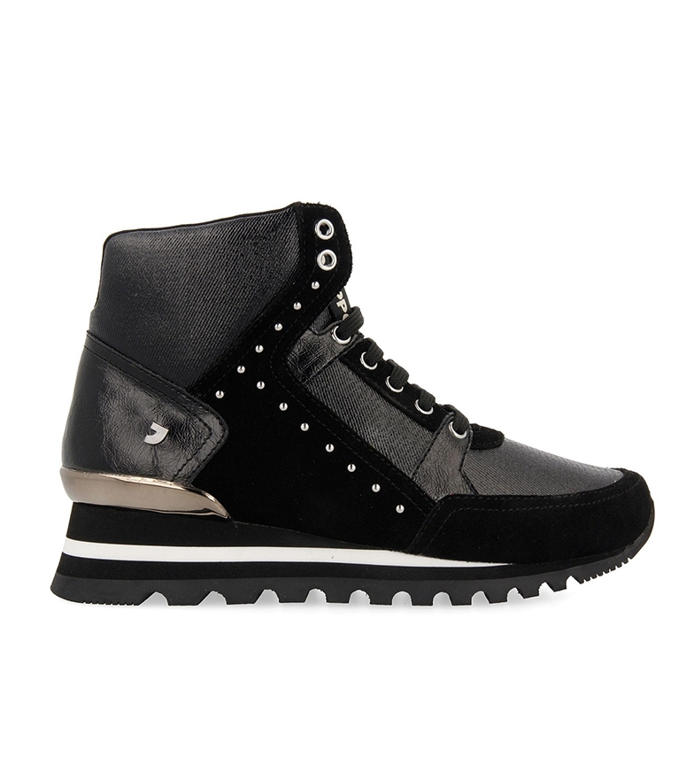 Comprar Gioseppo Manwalek black boots - wedge height: 5 cm