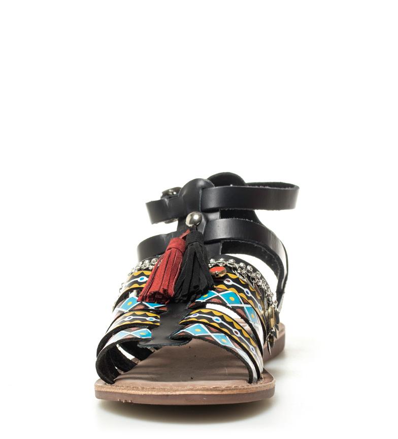 Gioseppo Skinn Sandaler Svart Fedra gratis frakt pålitelig klaring eksklusive nyte billig online under 50 dollar FFRsNpz