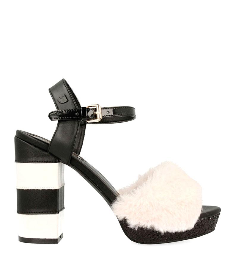 Comprar Gioseppo Sandalias de piel Aria negro, rosa -Altura tacón: 12 cm-