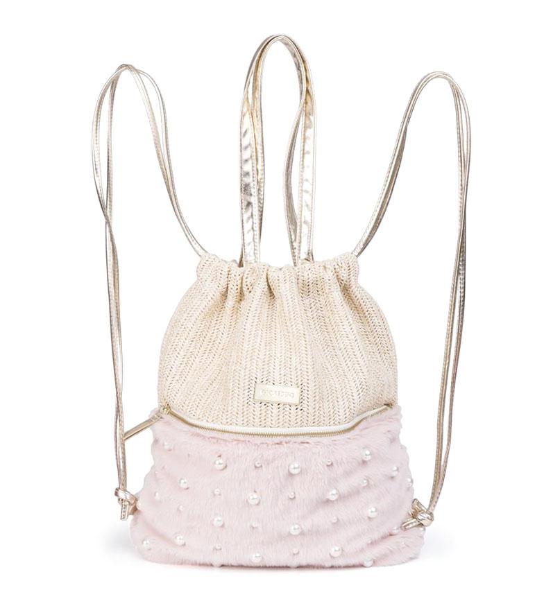 Comprar Gioseppo Bolso-Mochila Perla rosa, beige -41x39x39 cm-
