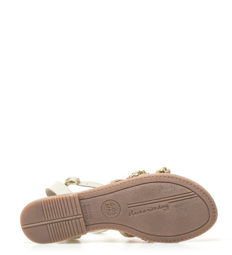 Gioseppo Sandalias de piel Bita blanco