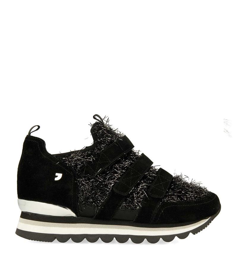 Comprar Gioseppo Emily slippers preto - Altura da cunha: 6cm