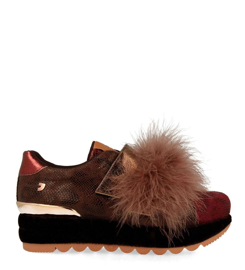 Comprar Gioseppo Sneakers marrone prugna - Altezza piattaforma: 4 cm -