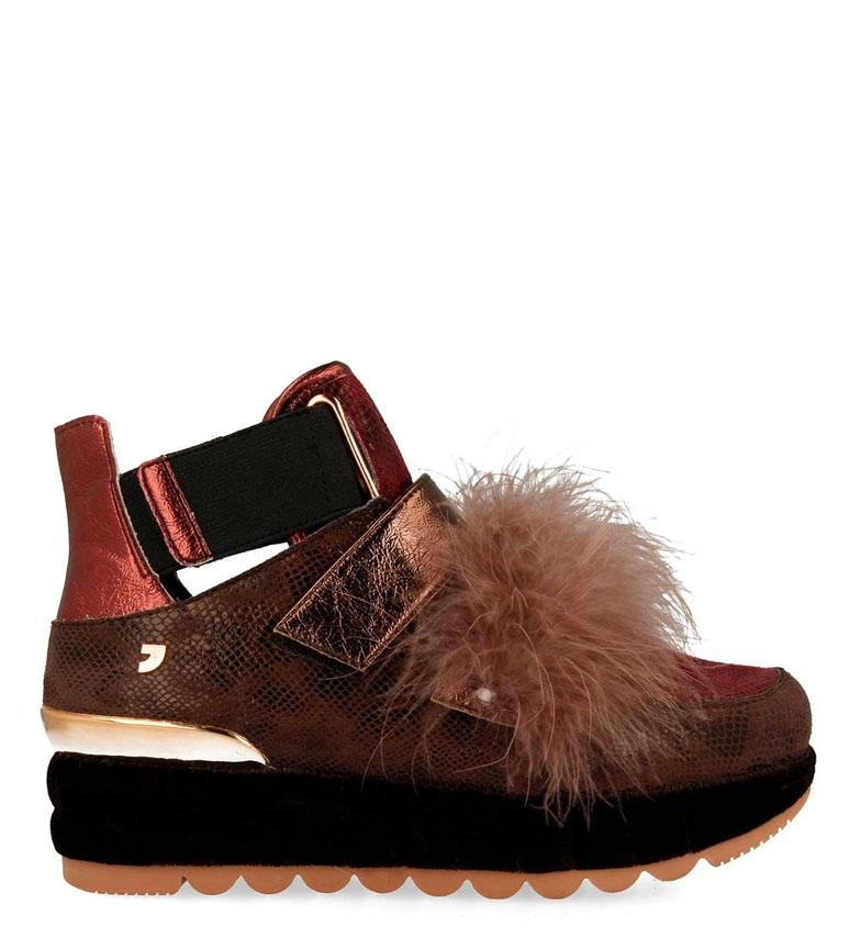 Comprar Gioseppo Chaussures Mawi rouge, marron - Hauteur de plate-forme : 4cm