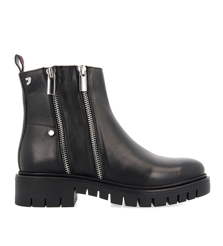 Comprar Gioseppo Emsland leather boots black -heel height: 3.4m